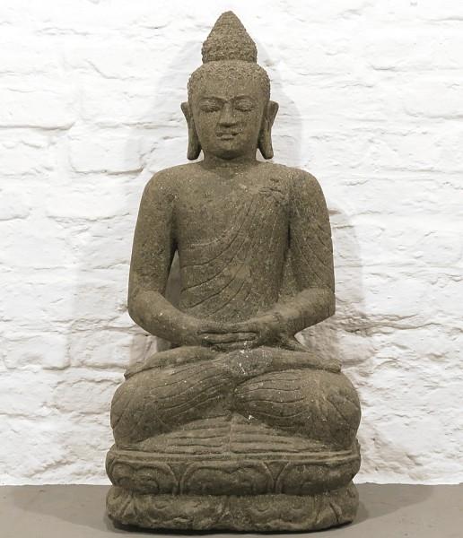Buddha Figur Granitstein