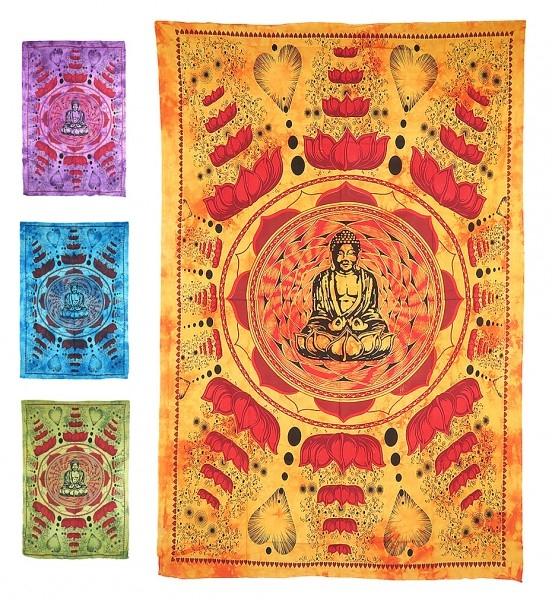 "Motivdecke "" Buddha Lotus"""