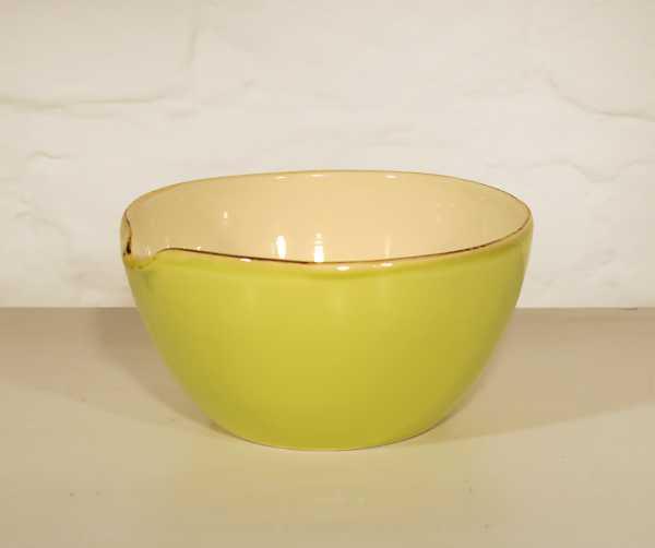 Keramik Schale mit Ausguss