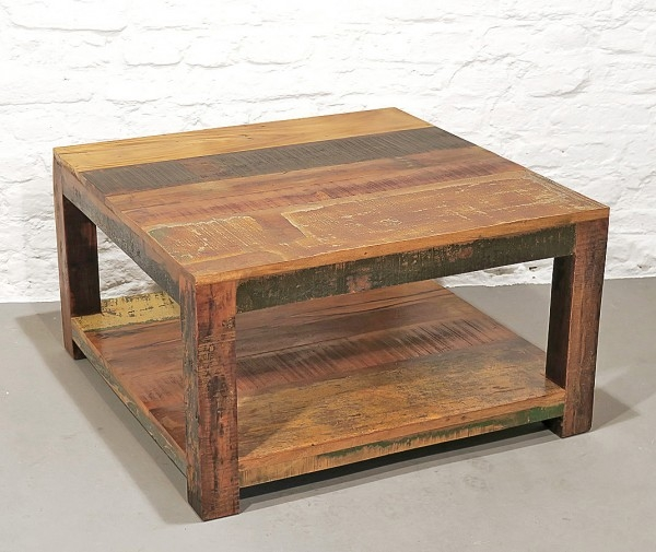 Coffeetable Recycle Holz Vintage