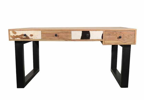 Schreibtisch Industrial Holz Metall