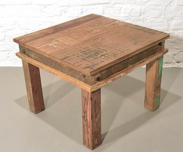 Coffeetable Recyclholz Tisch