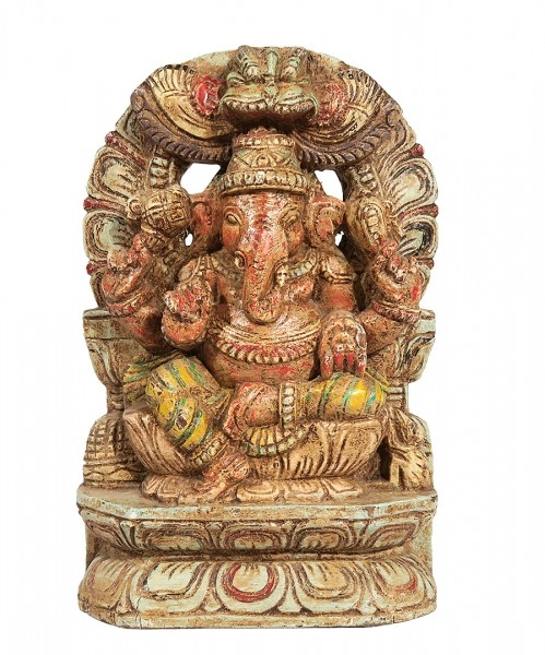 Ganesha Holzskulptur