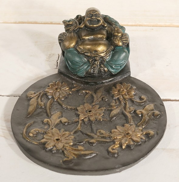 Räucherstäbchen-Halter Buddha