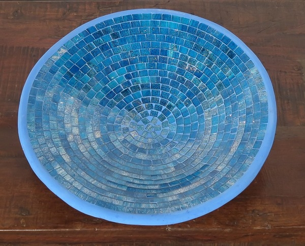 Schale Mosaik Turquise