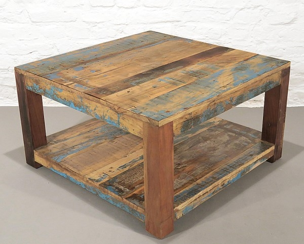 Coffee Table Recycle Holz