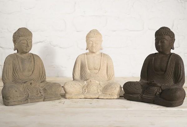 Buddha - Dhyana Mudra Steinfigur