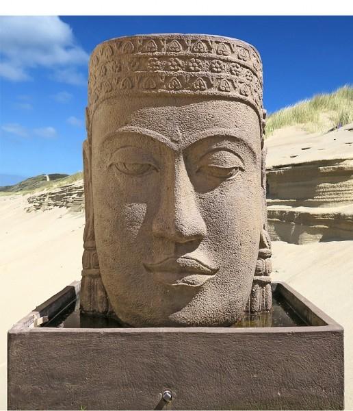 Khmer Brunnen Kopf
