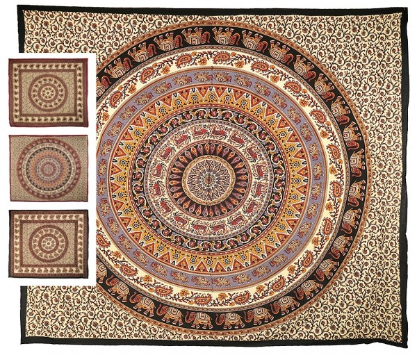 "Mandala ""Traditional"" Tages-Decke"