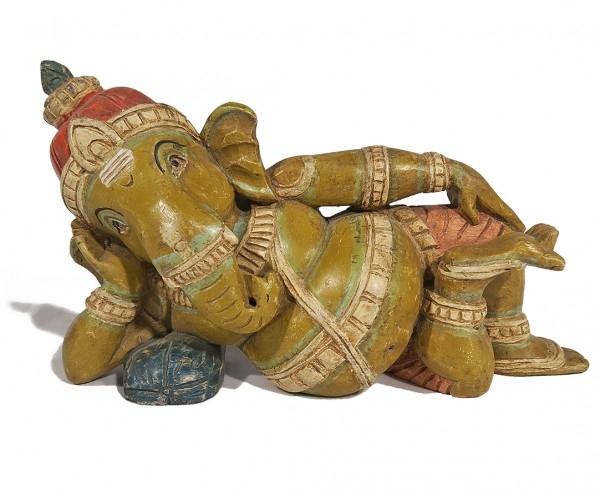 Liegender Ganesha Figur