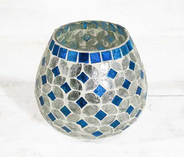 Windlicht Mosaik