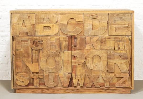 Buchstabenkommode ABC