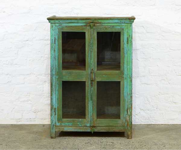 Old India Glasschrank