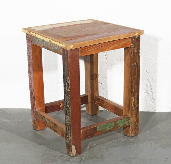 Hocker Recycleholz