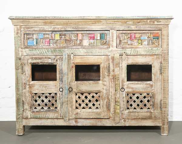Sideboard massiv - Multicolour