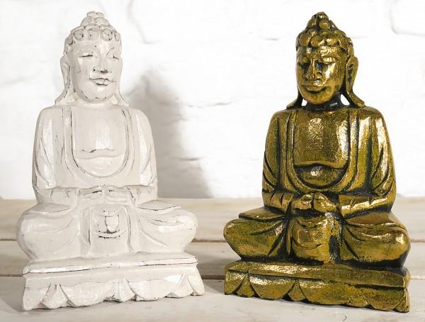 Balsaholz Buddha