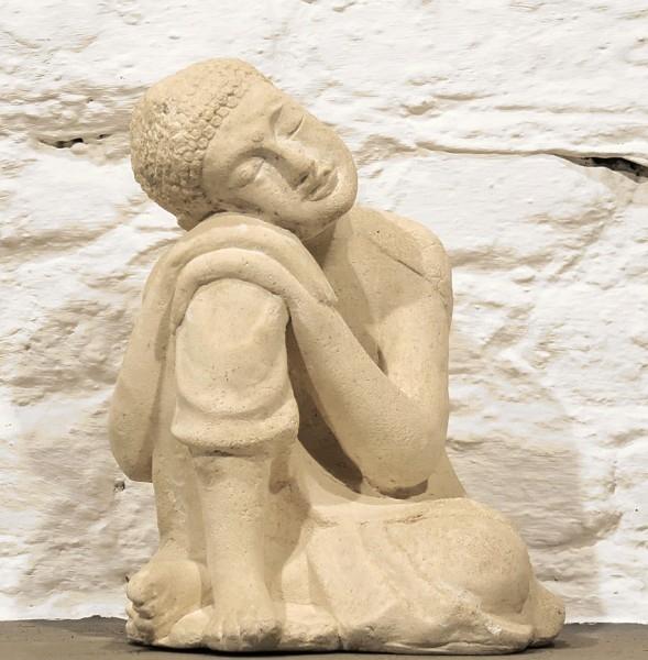 Dreaming Buddha Steinguss