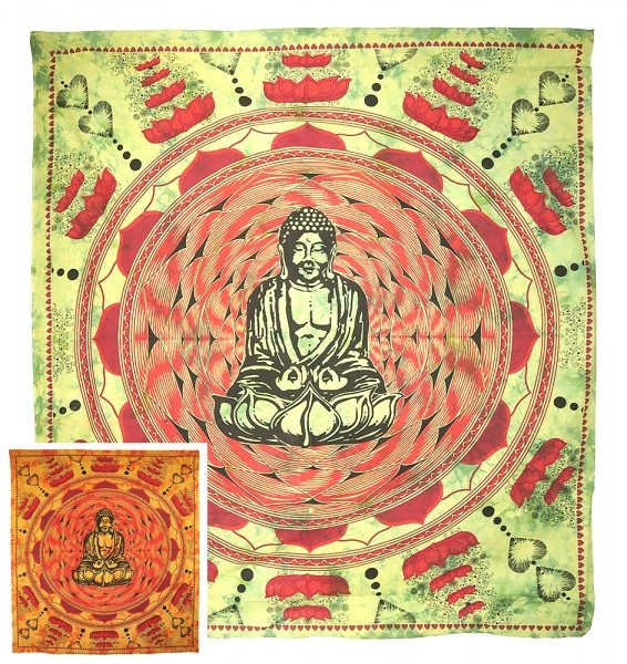 "Motivdecke ""Buddha Lotus"""