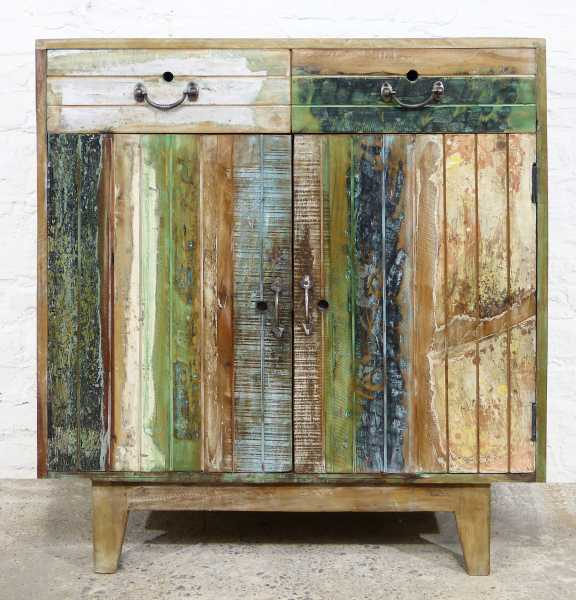 Kommode Recycle Holz