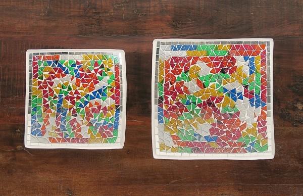 Mosaikschale Multicolour