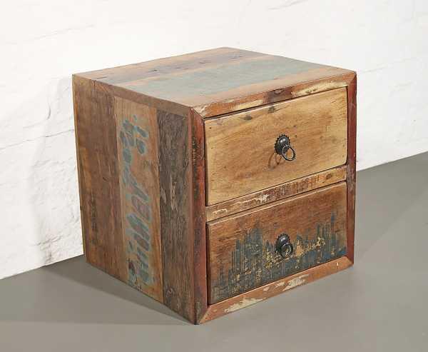 Recycleholz Cube