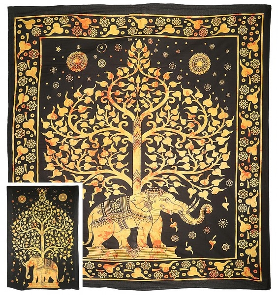 "Motivdecke ""Tree of Life"""
