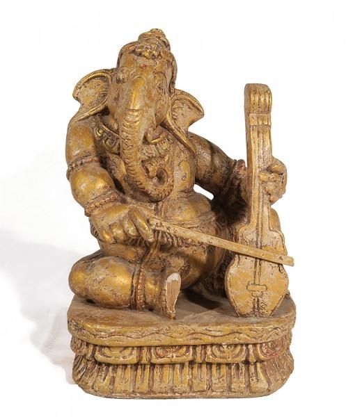 Ganesha Holzfigur