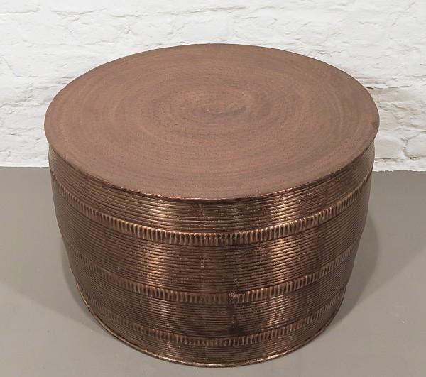 Tribal Metall Tisch rund