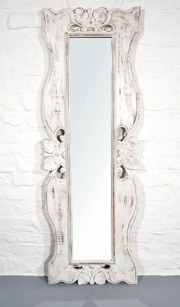 Spiegel Massiv Weiss