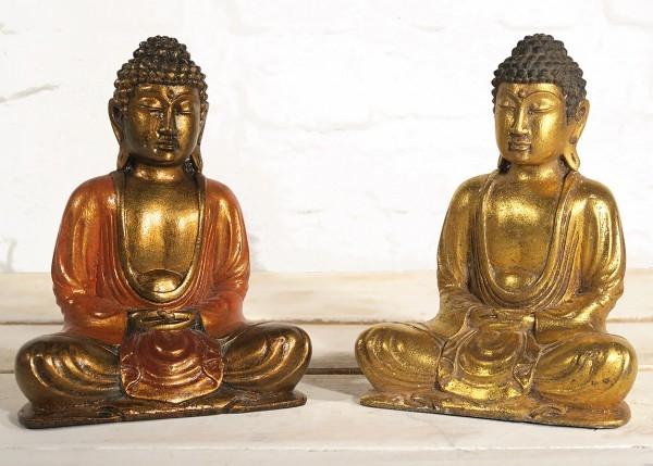 Buddha sitzend Figur
