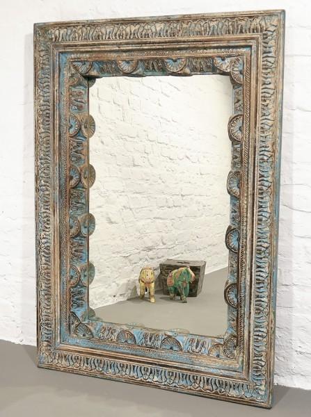 Spiegel - Old India - geschnitzt